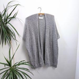 Community Grey Sleeveless Cardigan